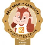 Grange Farm Camping and Cottages won the Best Family Campsite winner for the south east of England in 2019
