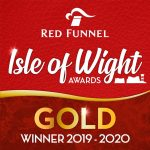 Red Funnel Gold Award Best IOW Campsite 2020